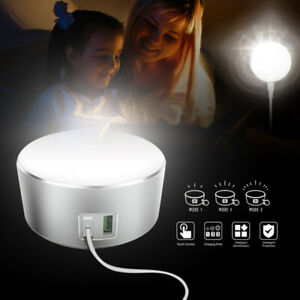 2usb LED Touch Bedside Lamp Light Bed Side Lamps Table Desk