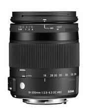 Sigma Nikon 18-200/3,5-6,3 Macro HSM OS (C)  D3200/D3300/D5500/D7100/D7200