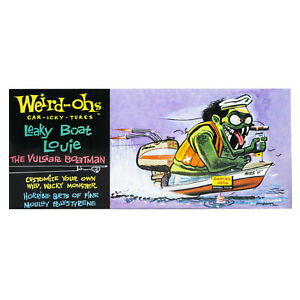 Hawk Model Company Weird-Ohs Leaky Boat Louie the Vulgar Boatman Monster Mode...