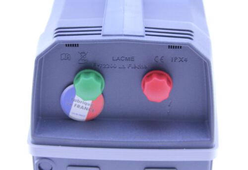 9 voltios 12 voltios electrificador cercados dispositivo de batería Weidezaungerät Lacme Secur 25