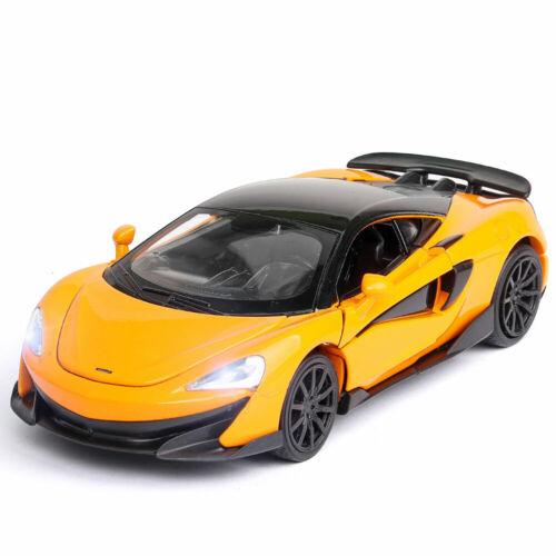 1:32 McLaren 600LT 2019 Super Car Model Alloy Diecast Toy Vehicle Gift Orange