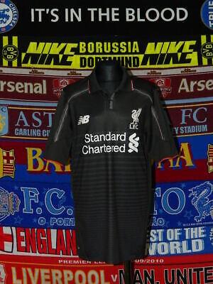 newest ae2cd 3f248 4.5/5 Liverpool boys 158cm 13 years NB football shirt jersey trikot  camiseta | eBay