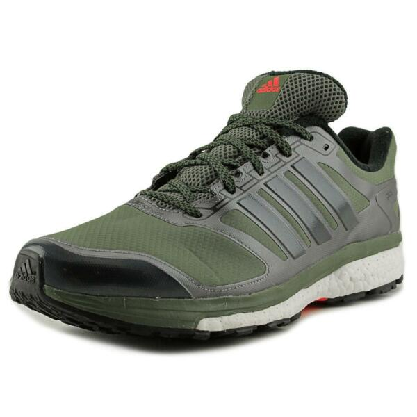394783155 adidas Supernova Glide Boost ATR Men US 11.5 Green Running Shoe NWOB 1497