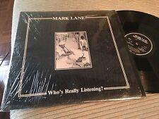 "MARK LANE 12"" LP USA MINIMAL SYNTH WAVE - BLACK VINYL 1984"