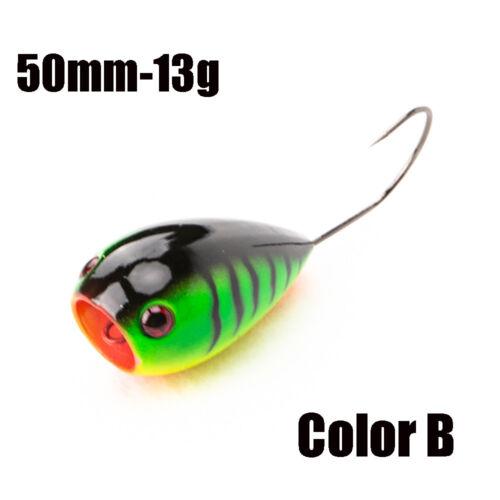 50mm 13g Artificial Fishing Lure  Floating EGG Bait  Crank Bait Single Hook