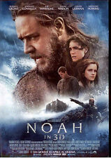 """H6  ESPOSITORE DA BANCO FILM """"NOAH IN 3D"""" R. CROWE PROSSIMAMENTE AL CINEMA 21X30"""