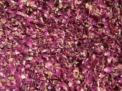Red Rose Dried Petals Buds Kosher 100% Organic Tea,Medicine,Bath,Soap,Spa 50gs