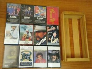 12-lot-CASSETTE-TAPE-Alabama-Baxter-Black-Patsy-Cline-Conway-Hank-Williams-1980s