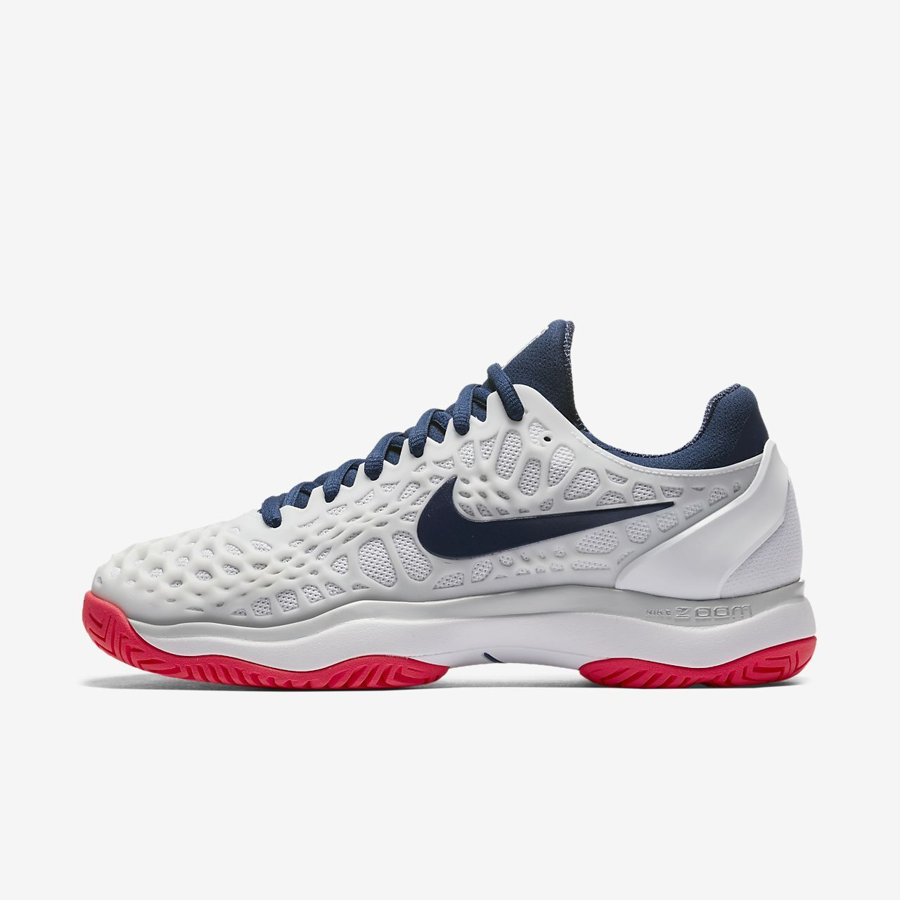 Nike Damenschuhe Air Zoom Cage 3 HC  - UK 6