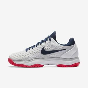Image is loading Nike-Womens-Air-Zoom-Cage-3-HC-UK- 0c393626b