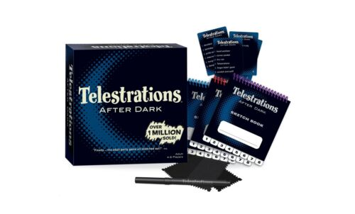 Telestrations After Dark Adult Party GameAdult Board GameAn Adult Twist...