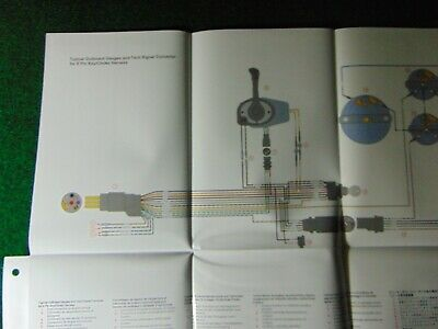 mercury outboard harness wiring diagram gauges tach Mercury 200 Outboard Wiring Diagram
