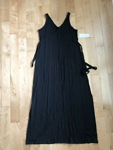 Nwt Liz Lange For Target Black Maternity Maxi Dress Size Small Ebay