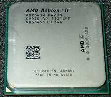 AMD Athlon II  X 4  3.0 GHz  Quad Core 640 Processor, ADX640WFK42GM, AM2+ / AM3