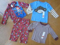 2t Boys Clothes Lot Pj Tops Jake & The Never Land Pirates 24 Month