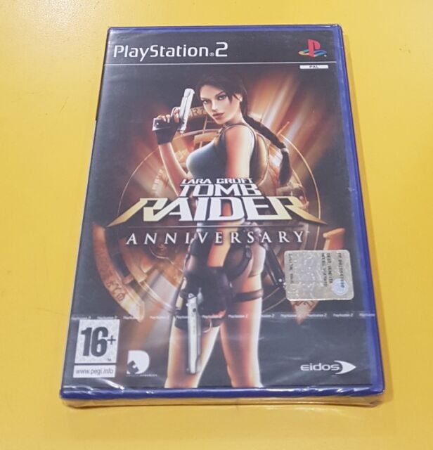 Lara Croft Tomb Raider Anniversary JEU PS2 VERSION ITALIENNE NOUVEAU