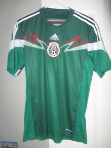 Details about Adidas - Mexico 2014 World Cup RETRO Men's Soccer Jersey sz S * NWT $90