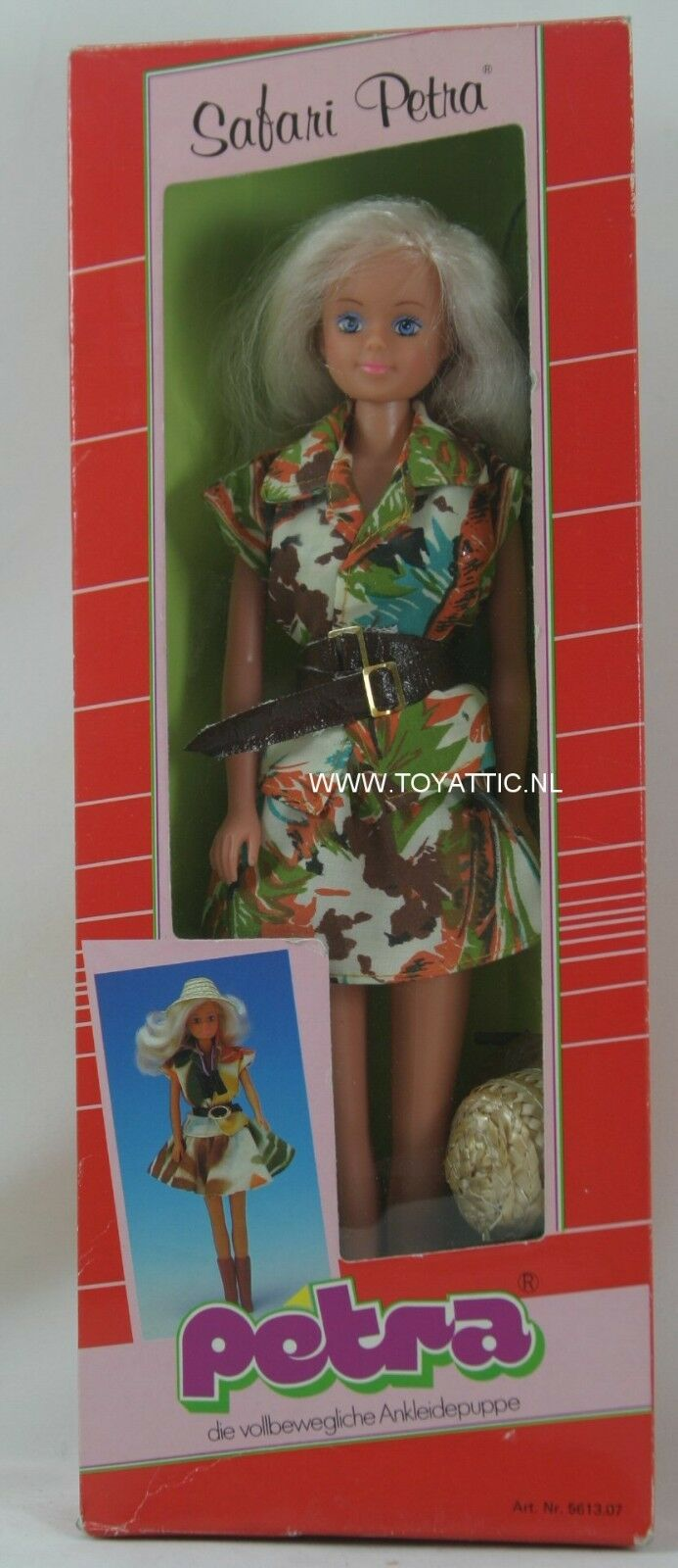 Petra Barbie Größed clone doll from Plasty Plasty Plasty Safari in original package c85d71