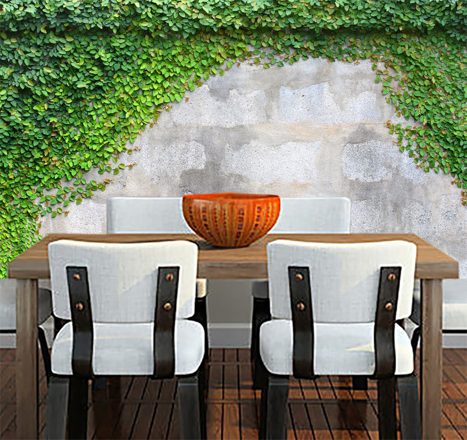 3D leaf concrete 5645 Wall Paper Wall Print Decal Wall Deco Indoor Wall Murals