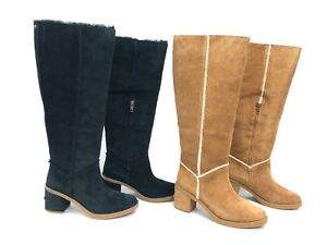 fd692962df1 Details about UGG Australia Kasen II Tall Suede Knee High Boot 1095052  Chestnut Black Women's