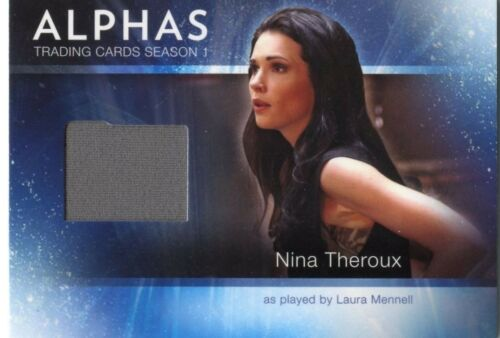 ALPHAS TRADING CARDS SEASON 1 COSTUME CARD M10 NINA THEROUX