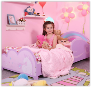 Miraculous Details About Girls Toddler Bed Kids Bedroom Furniture Childrens Unicorn Birthday Gift Uk Home Remodeling Inspirations Basidirectenergyitoicom