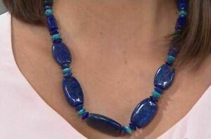 3148f74038b Jay King Lapis & Turquoise Bead 20