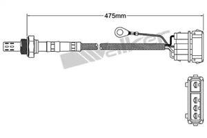 Maxima QX V Rear Lambda//Oxygen Sensor for Nissan Maxima
