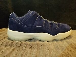 5ea8dcbc371 Image is loading Nike-Air-Jordan-XI-Low-Binary-Blue-AV2187-
