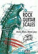 Rock-Guitar-Scales-Rock-Blues-Metal-Jazz-Tappi-Buch-Zustand-sehr-gut