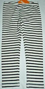 40cc24fb4f2ff Image is loading Gymboree-Catastic-Black-Gold-White-Striped-Leggings-3T-