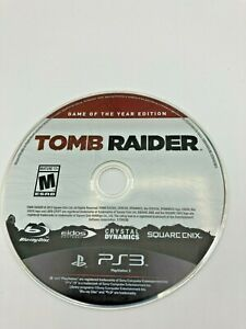 Sony PlayStation 3 PS3 Disc Only Tested Tomb Raider Game of the Year Ships Fast
