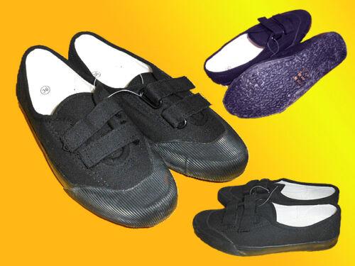 schwarze Stoffschuhe Freizeitschuhe  36-40 NEU Damenschuhe-Sportschuhe