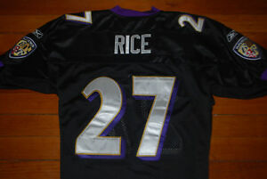 Ray Rice Nfl Reebok Jersey Fan Apparel & Souvenirs Football-nfl