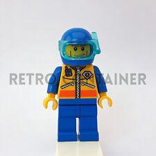LEGO Minifigures - 1x cty068 - Coast Guard Diver - City Omino Minifig Set 7724