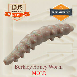 Details about Berkley Honey Worm Bait Mold Fishing Soft Plastic Lure 25-38  mm