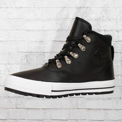 Converse Chaussures en cuir 557916 C Ember bateau High Noir Femmes Femmes Sneaker