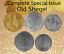 Israel-Complete-Set-Special-Issue-Hanukkah-amp-Faces-Lot-of-5-Old-Sheqel-Coins thumbnail 4