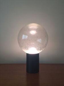 Image Is Loading Rare Raak Large Bubble Glass Globe Table Lamp