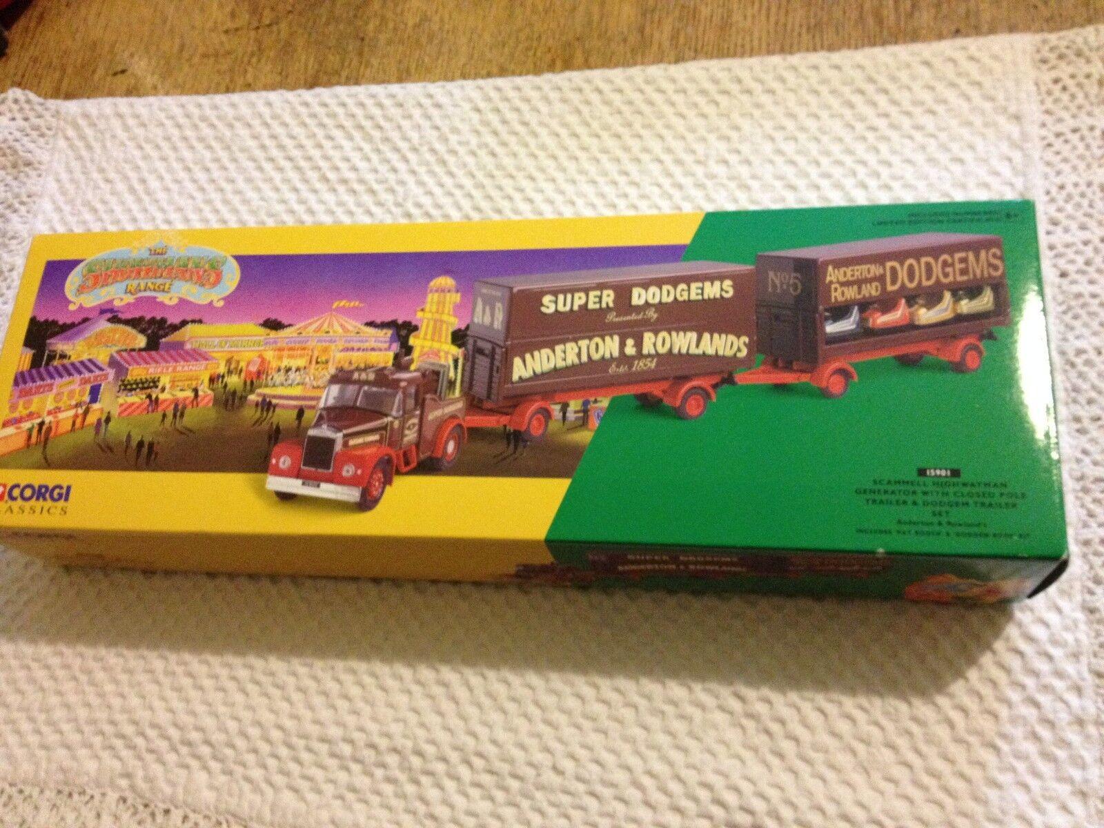 Corgi Classics Showmans Range 15901 Scammell Highwayman Generator Trailer Dodgem
