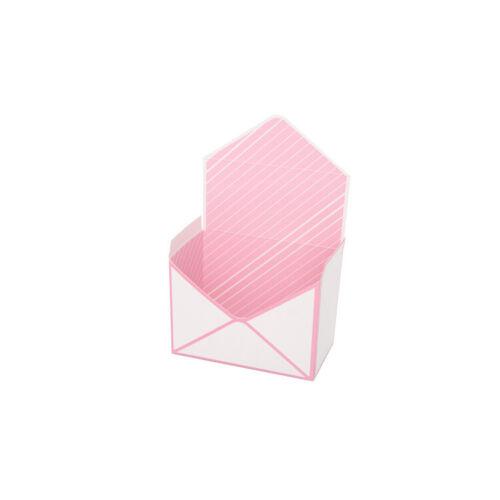 Xmas Simple Envelope Flower Box Wedding Candy Gift Holiday Foldable Flower