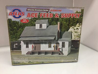 Atlas 6913 Hillside Structure Series O Ace Feed Supply Kit