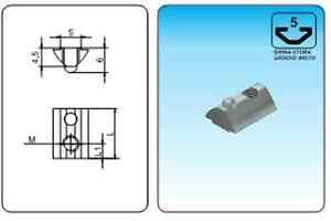 20x20-Aluminum-Profile-Nuts-With-Ball-T-Serial-5-M4-M5-1-10-100-pcs-Profil