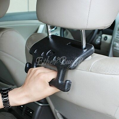 Car Auto Seat Hanger Purse Bag Grocery Organizer Holder Hook Sturdy Handle Grip