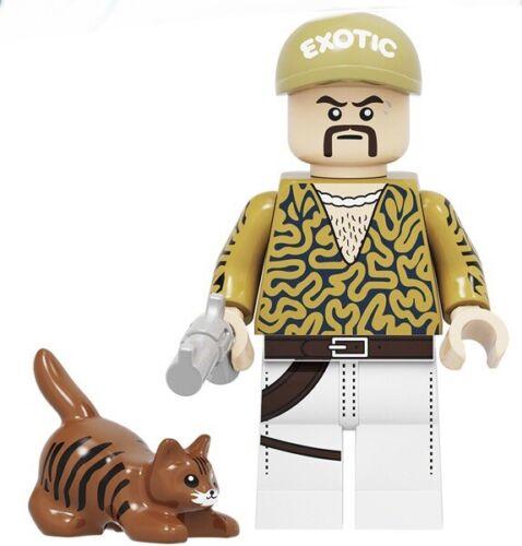 NIP Mini Brick Figure JOE EXOTIC TIGER KING 1357