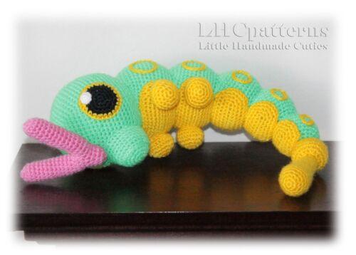 Read Description Crochet Caterpie  Pokemon Go Pattern PDF