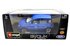 BURAGO FIAT NUOVA PANDA BLUE 1/24 Diecast cars
