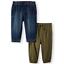 NEW-Garanimals-Baby-Canvas-Jogger-Pants-Olive-Size-5-T thumbnail 1