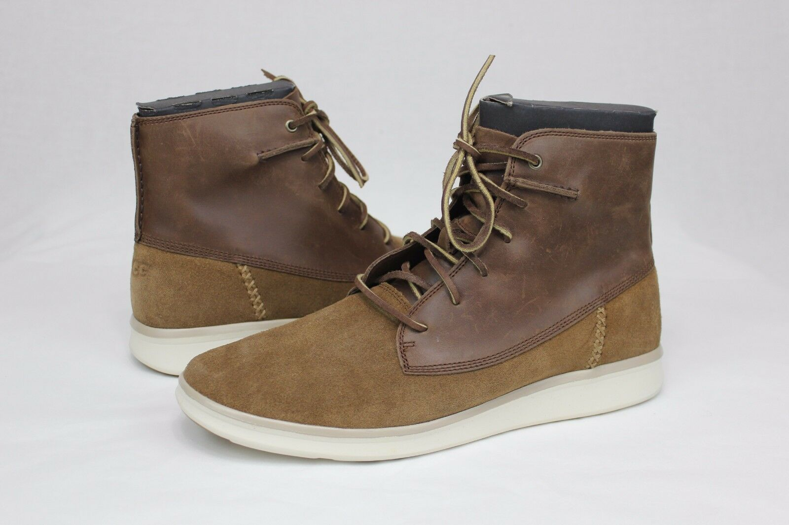 19642ad67ac UGG Lamont Chestnut Mens Leather Suede BOOTS Size 12 US