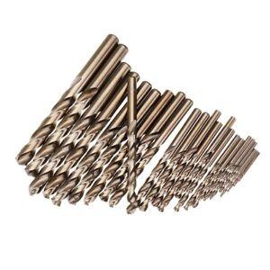 25-x-1-13-mm-HSS-M35-Punte-elicoidali-al-cobalto-per-acciaio-inox